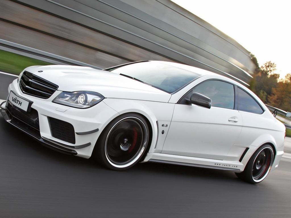 Mercedes C63 AMG Black Series получил больше 200 дополнительных лошадей