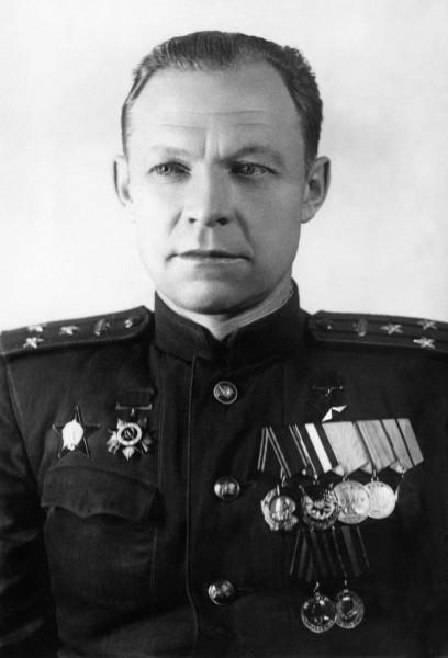 Кошаев, начальник военной кафедры 1945