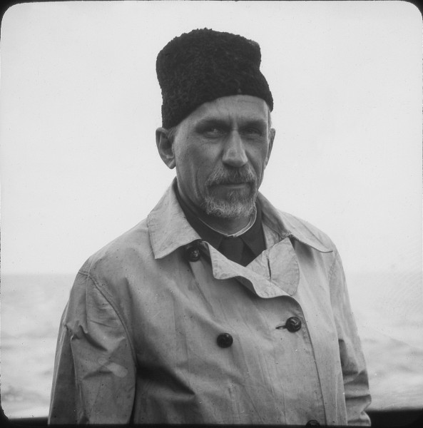 Профессор Александр Александрович Гапеев (фото геолога Арнольда Хайма. 1937) (1)