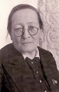Р.С. Землячка, делегат XVIII съезда ВКП(б). 1939