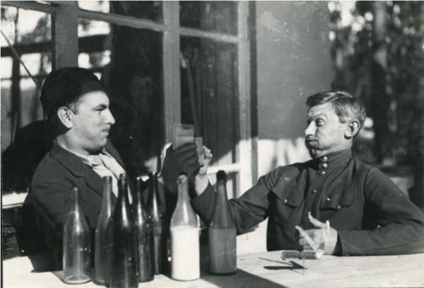 фото Пешкова М. Луговской В. и Фадеев А. Уфа, 1932г.