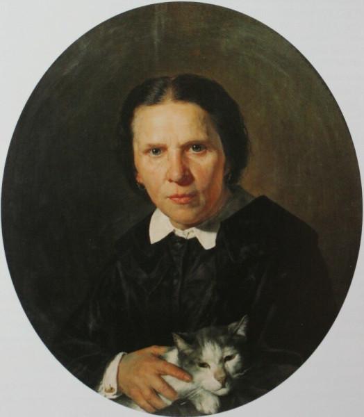 Портрет А.Д.Коншиной   1859    ГТГ