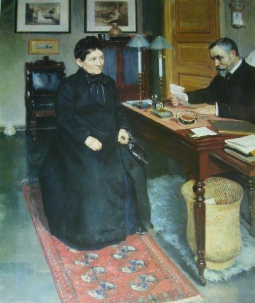 Просительница   1880-е        Омский музей изобразительных искусств_edorig