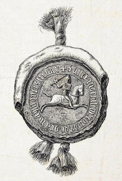 800px-Vitaŭt_Vialiki,_Pahonia._Вітаўт_Вялікі,_Пагоня_(K._Kielisiński,_1426,_1841)