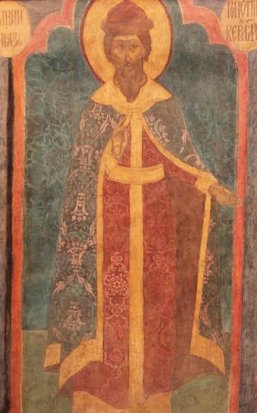 Archangel_Cathedral_-_NE_column,_1st_lev.,_south_-_Konstantin_Vsevolodovich