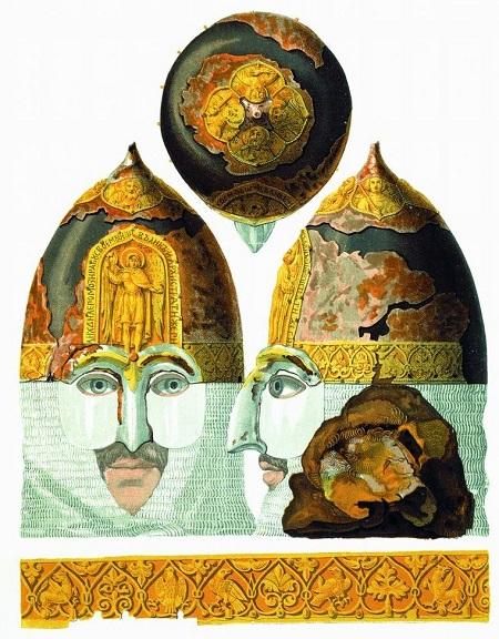 Drevnosti_RG_v3_ill004_-_Helmet_of_Yaroslav_Vsevolodovith_DRG