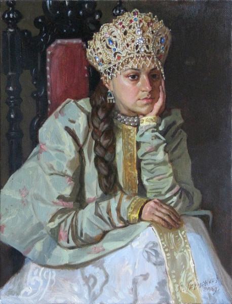 Левченков А. Царица Мария Темрюковна. 2000-е гг.