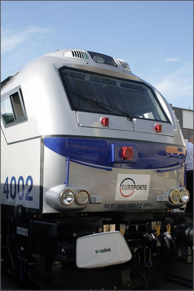 Vossloh, тепловоз Euro 4000