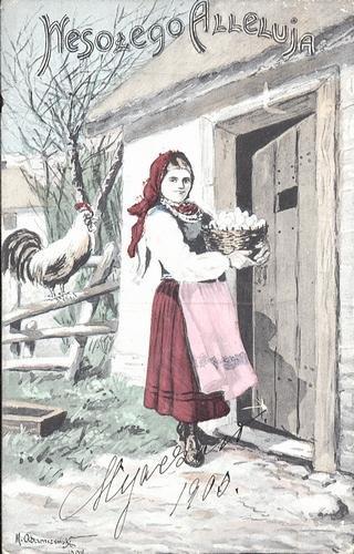 Старые польские открытки