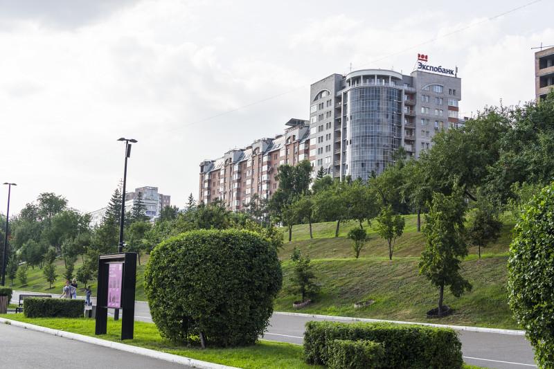 Улица Дубровинского. Набережная.