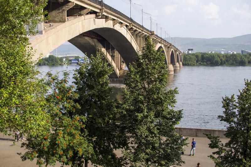 Главный красноярский мост.