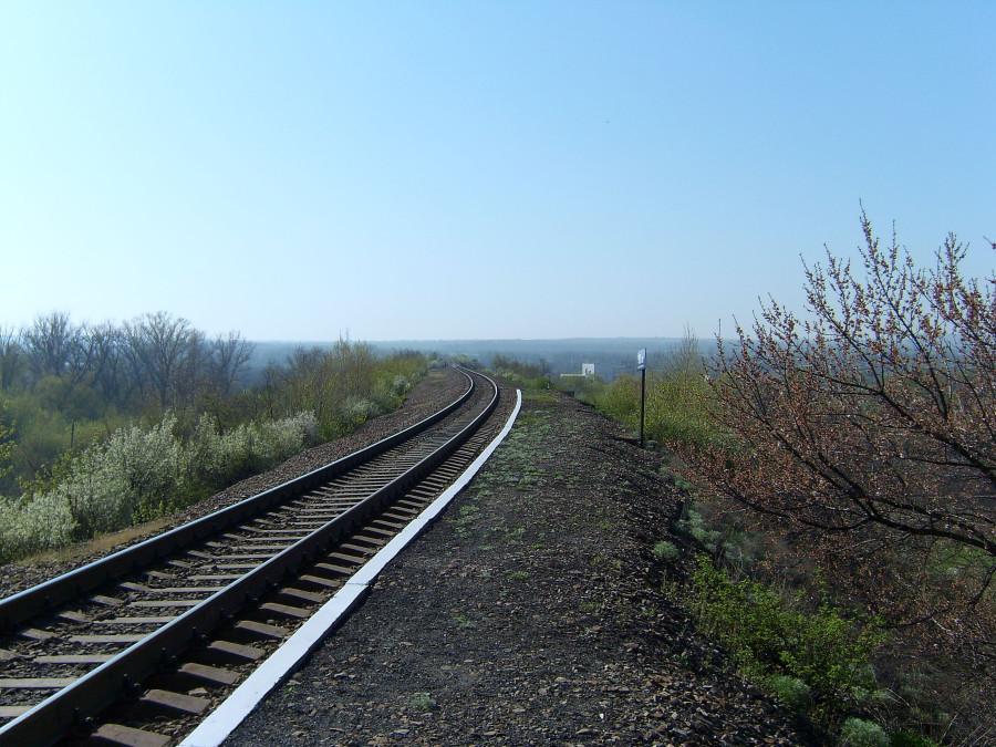 Остановочный пункт 98 км. Луганская обл.