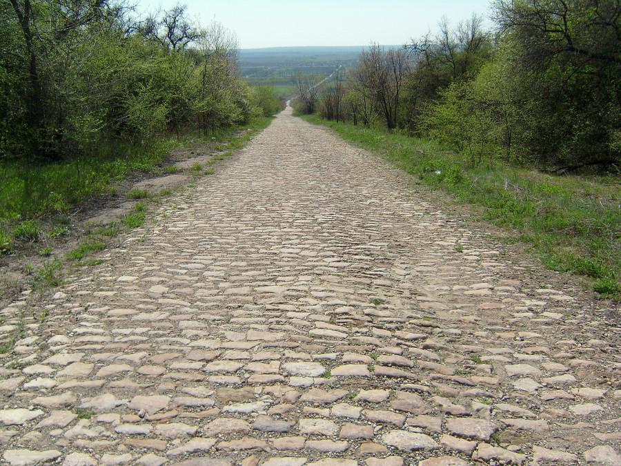 Дорога Белое-Родаково.
