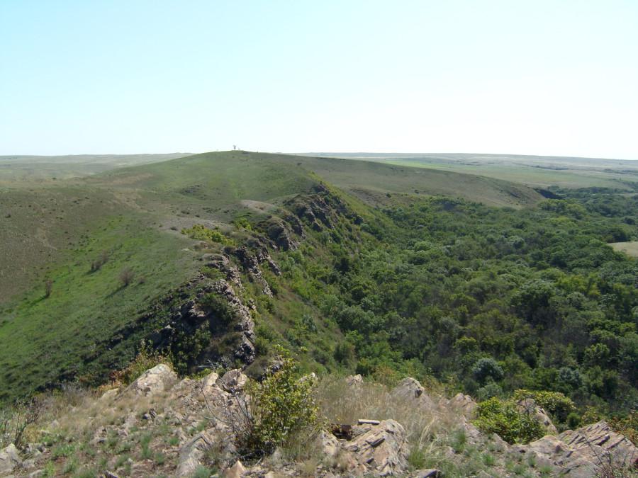 Краснодонские скалы.