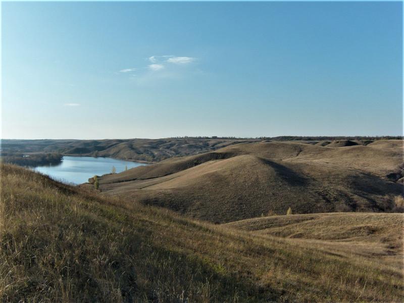 Первозвановское водохранилище. Луганская область.