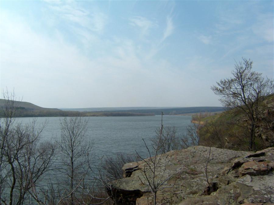 Краснянское водохранилище в Луганской обл.