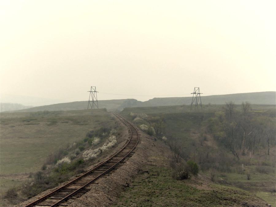 В окрестностях станции Встречная-Донецкая.