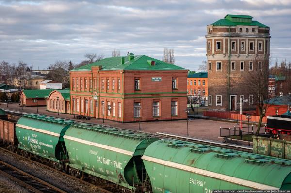 Лев Толстой, железнодорожная станция