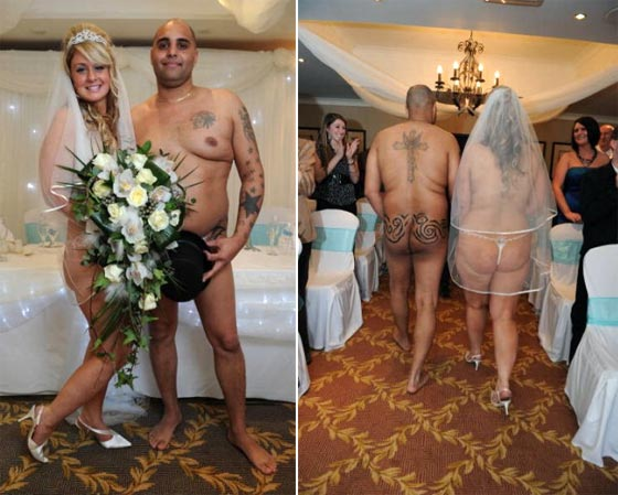 голая свадьба
