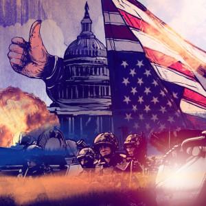 Вашингтон поддерживает войну на Украине