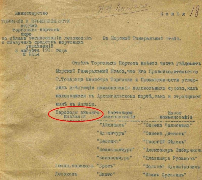 Новые назв ледоколов 1916 фр1 800