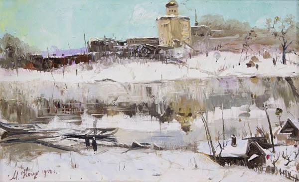 600 Косых Максим Серг 1917-1999 Вел Устюг зимой 1958