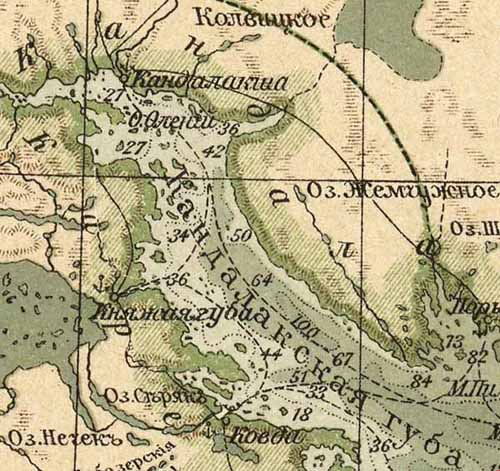 Княжая_губа_500_карта_1909