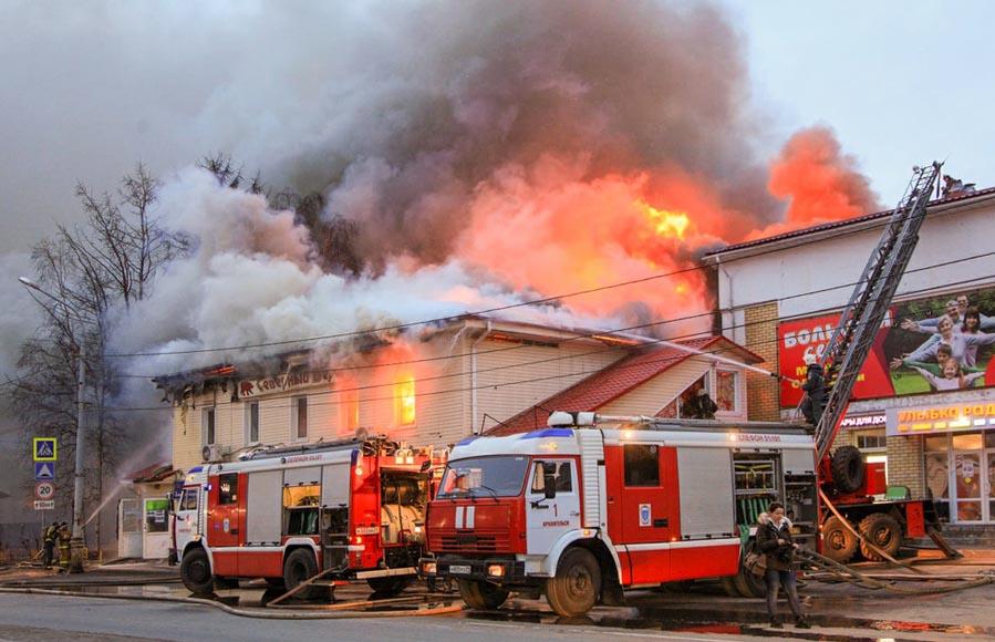 пожар ДЕВИЧЬЕ БАШНИ 899