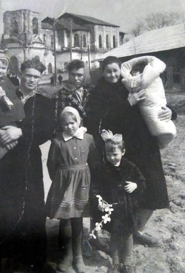 Красноборск Спасский собор 1 мая 1964 г 600