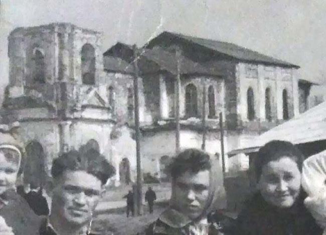 Красноборск Спасский собор 1 мая 1964 г фр650