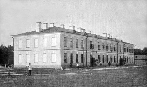 Шенкурск Казарма для полиц стражников 1902 500