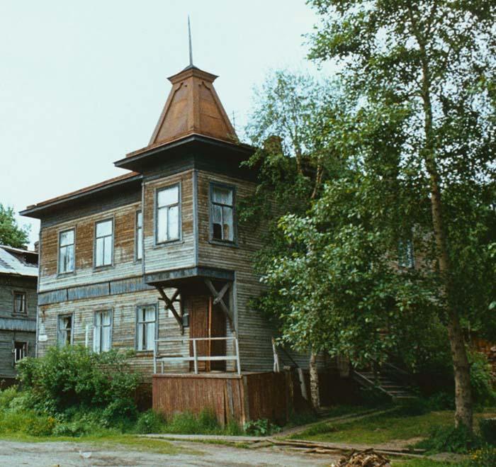 дом Гринфельдта Фотограф Сергей Бессмертный 1985 фр700