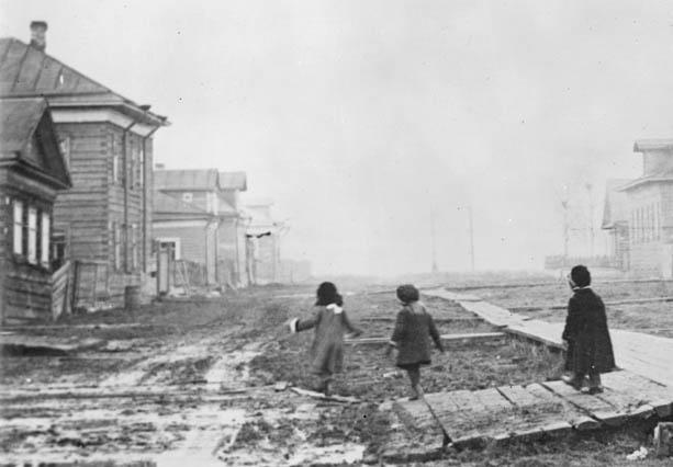 Неизв улица в Арх 1918 1919 гг фр613