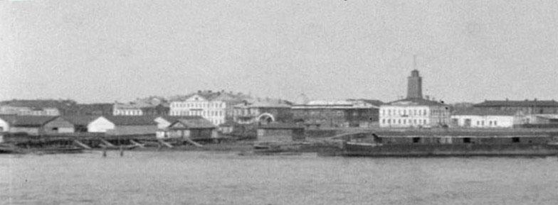 1_Архангельск с реки 1919 фр