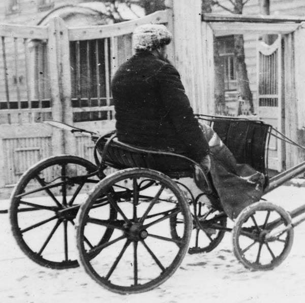 Арх извозчик 1918 фр 600