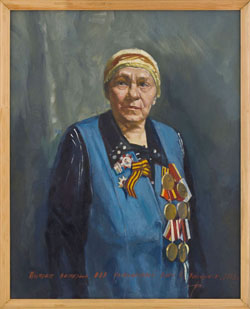 Остапук В A 1959 Портр вет ВОВ Колесниковой Анны Волгодонск 2013 250