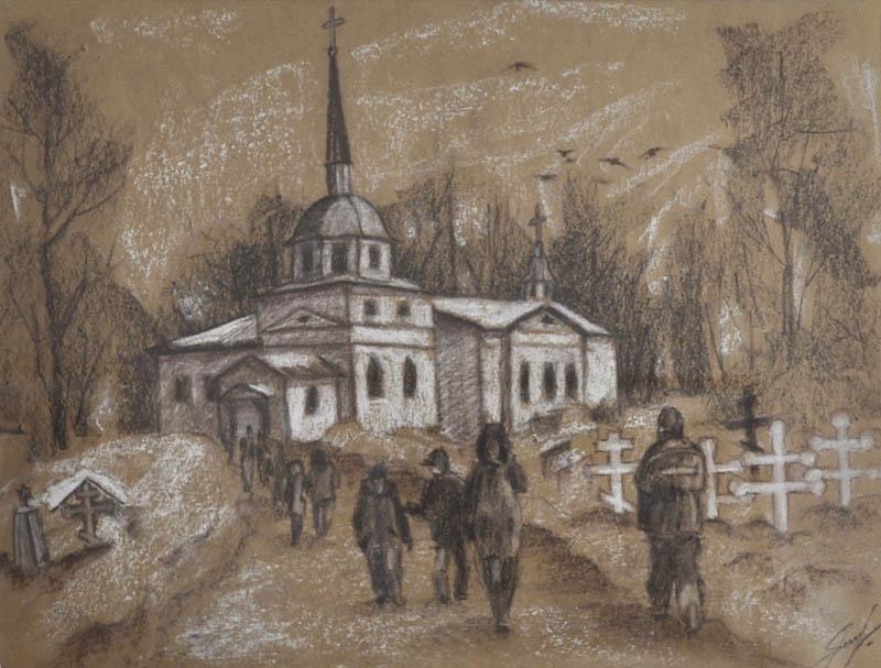 Александр Яшков На литургию Соломб 2017