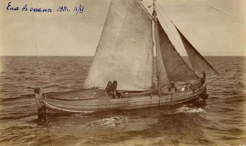 Ела в океане 1911 год