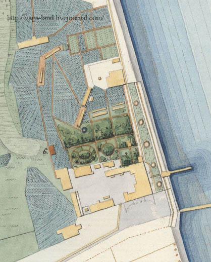 Дом глав ком-ра Арх порта и мост 1859 фр