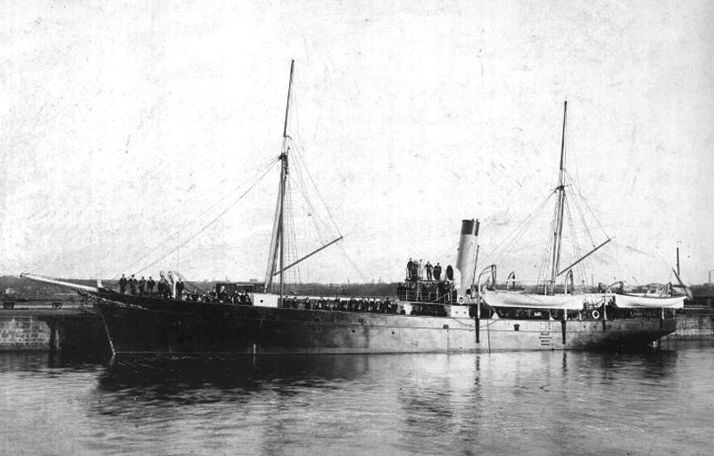Гидрограф судно САМОЕД 1906 ЦВММ 800