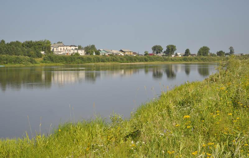 11 Благовещенск с левого берега Устьи 800