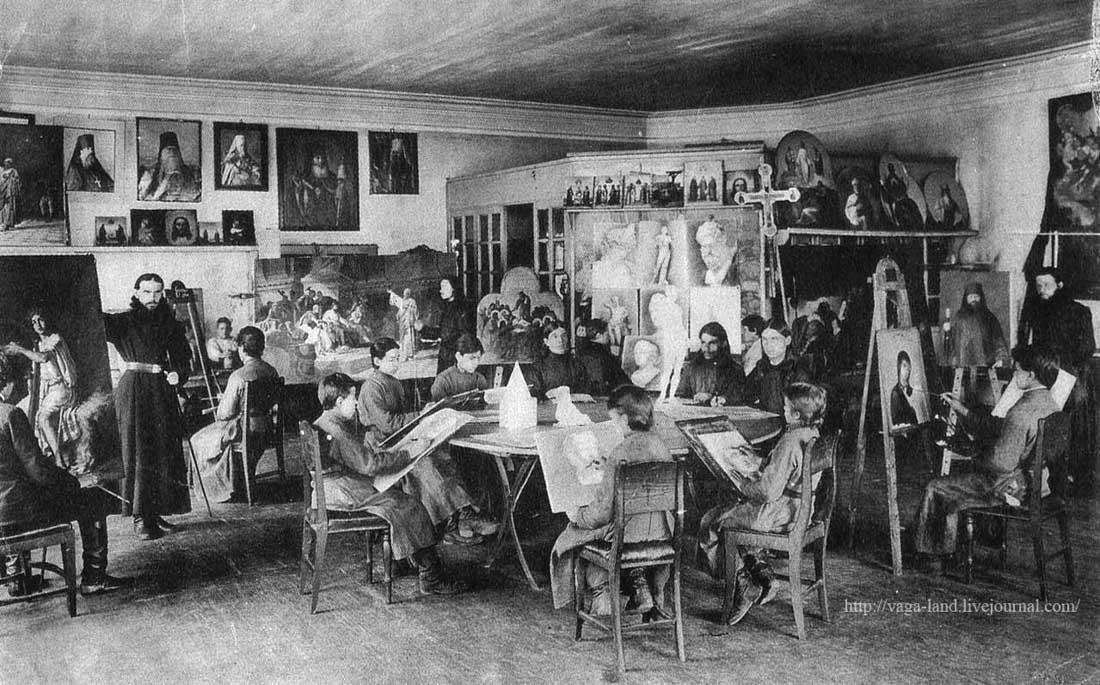 Лейцингер Иконопис палата Солов мон 1895 АОКМ 1100 вз