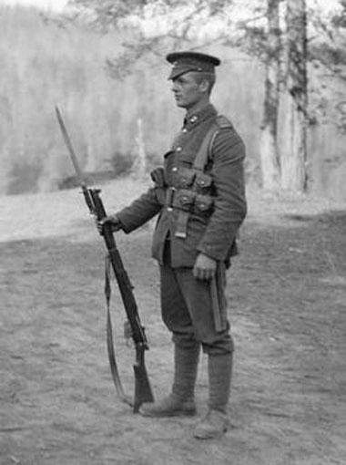 англ солдат 1919.