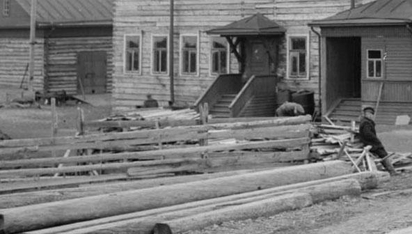Бакарица Дом в кот жили англ солдаты 1919 ah592