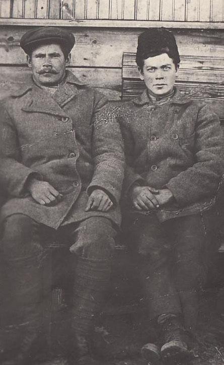 Пуляев и Горшков (взрыв баржи в Двин Берез 5 сент 1919) 2