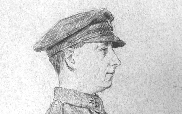 Писахов Англ солдат 1919 Гос центр муз совр ист Рос фр 700