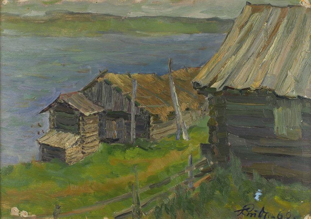 3_Студентов-Щепкин Герман (1937-2009) Сев. Двина 1960