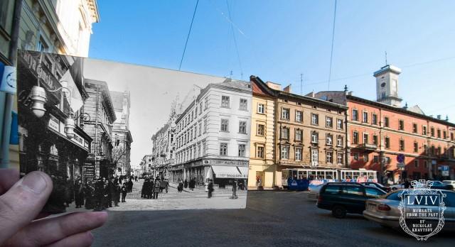 Частину міста з минулого століття