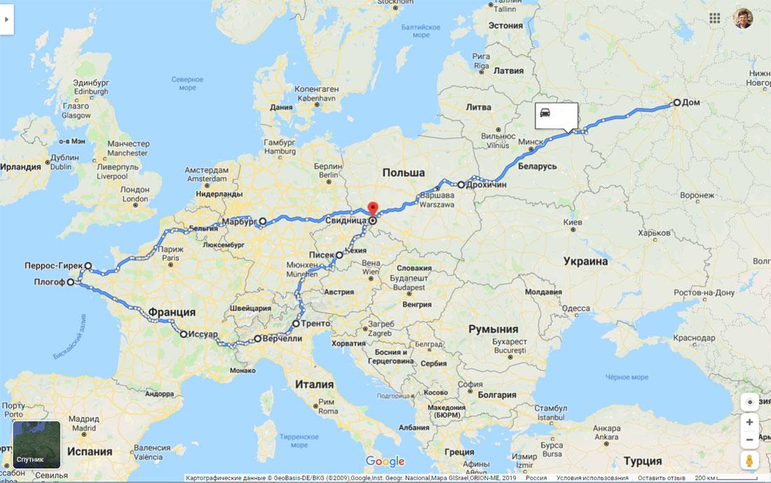 В какую сумму обходится нам поездка в Европу на машине. Рассказываю на