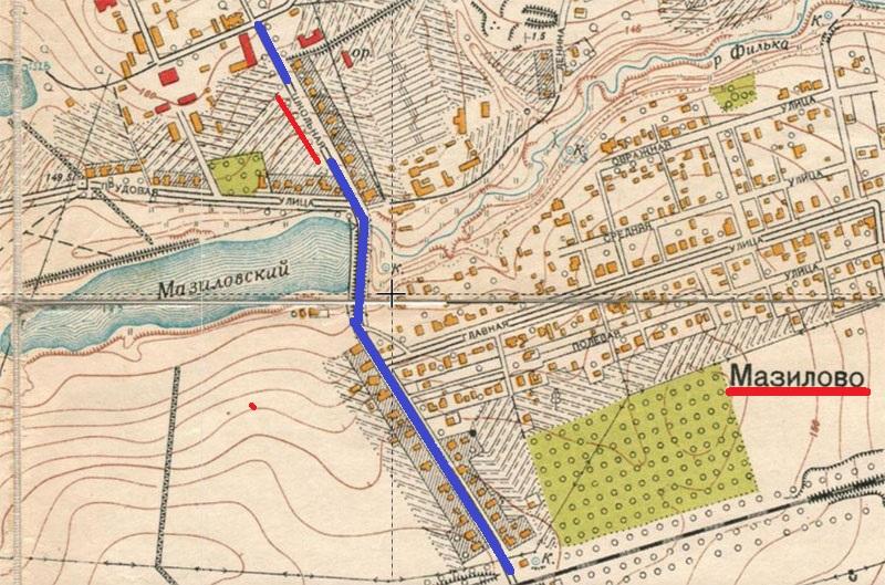 Более 50-ти лет московская улица существовала без названия. Рассказываю почему 1952.jpg
